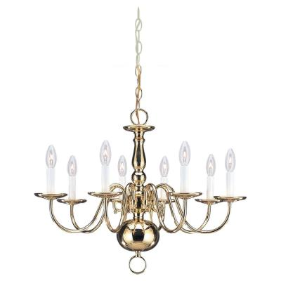 Sea Gull Lighting 3412-02 Eight Light Chandelier