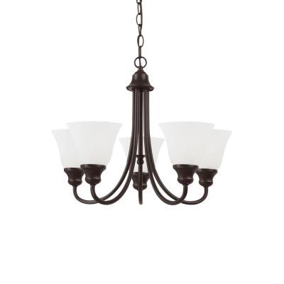 Sea Gull Lighting 35940BLE-782 Windgate - Five Light Chandelier