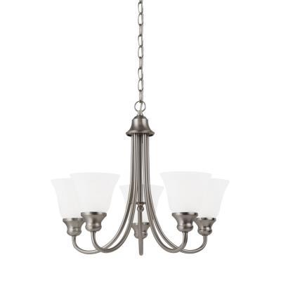 Sea Gull Lighting 35940BLE-962 Windgate - Five Light Chandelier