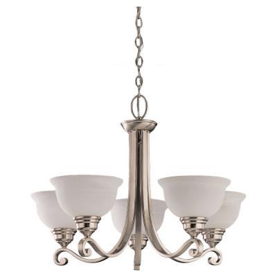 Sea Gull Lighting 39059BLE-962 Five-light Serenity Chandelier