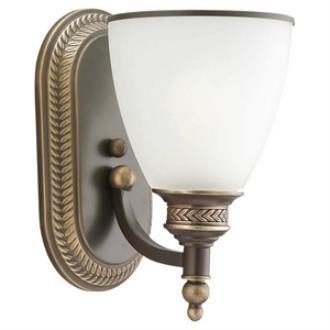 Sea Gull Lighting 41350-708 Laurel Leaf - One Light Wall/Bath