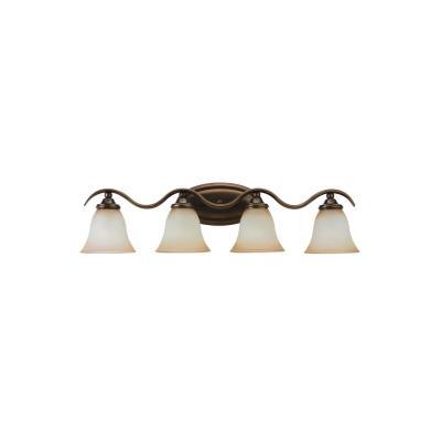 Sea Gull Lighting 44362-829 Four-Light Rialto Wall / Bath Fixture