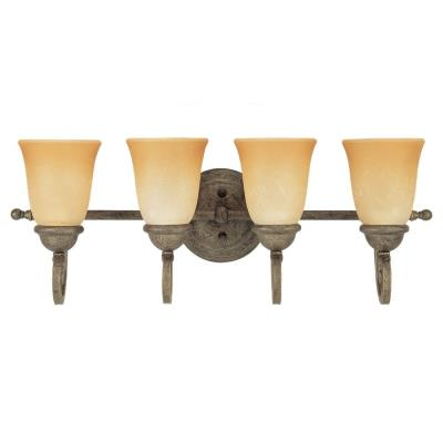 Sea Gull Lighting 44432-71 Four-Light Brandywine Wall/ Bath