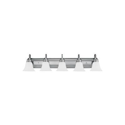 Sea Gull Lighting 44854-05 Gladstone - Five Light Bath Bar