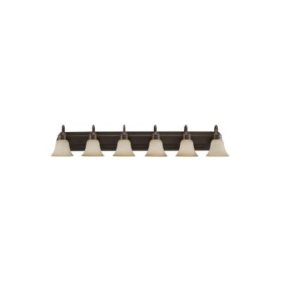 Sea Gull Lighting 44855-782 Gladstone - Six Light Bath Bar
