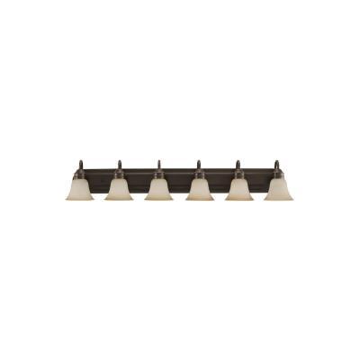 Sea Gull Lighting 44855-782 Gladstone - Six Light Bath Bar