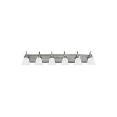 Sea Gull Lighting 44855-965 Gladstone - Six Light Bath Bar