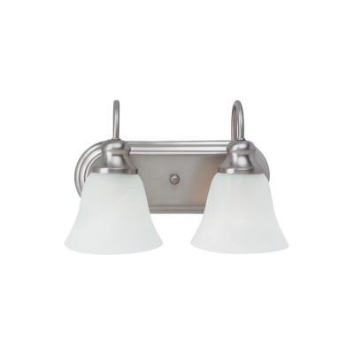 Sea Gull Lighting 44940-962 Windgate - Two Light Bath Bar