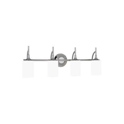 Sea Gull Lighting 44955 Stirling - Four Light Wall/Bath Vanity