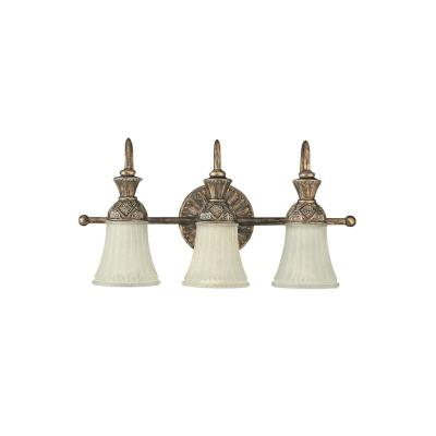 Sea Gull Lighting 47252-758 Three Light Highlands Wall Bath Fixture