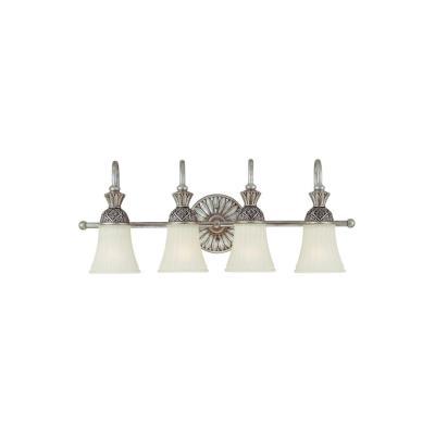 Sea Gull Lighting 47253-824 Four Light Wall/bath Fixture