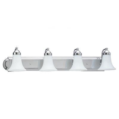 Sea Gull Lighting 4860-05 Four Light Wall/bath Sconce