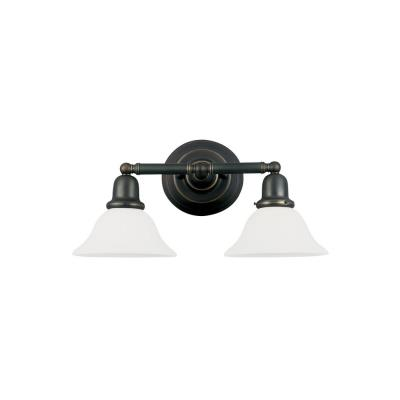 Sea Gull Lighting 49065BLE-782 Two-Light Sussex Fluorescent Wall/Bath