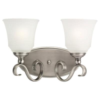 Sea Gull Lighting 49381BLE-965 Two-Light Fluorescent Wall/Bath