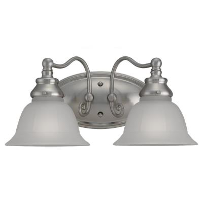 Sea Gull Lighting 49651BLE-962 Two Light Fluorescent Bath Fixture