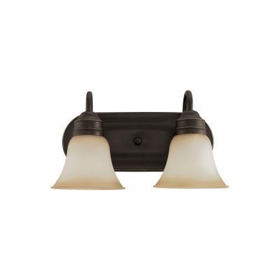 Sea Gull Lighting 49851BLE-782 Two-Light Fluorescent Wall/Bath