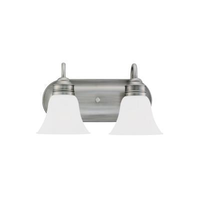 Sea Gull Lighting 49851BLE-965 Two-Light Fluorescent Wall/Bath