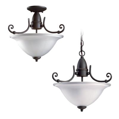 Sea Gull Lighting 51050-71 Two-light Canterbury Hall/foyer