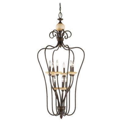 Sea Gull Lighting 51107-72 Nine-Light Montclaire Foyer Light