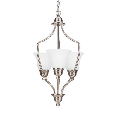 Sea Gull Lighting 51410BLE-962 Livingston - Three Light Foyer