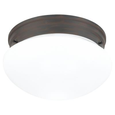 Sea Gull Lighting 5328-72 Two-light Olde Iron Ceiling