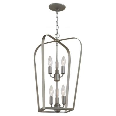 Sea Gull Lighting 54941-753 Windgate - Six Light Foyer