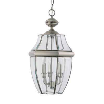 Sea Gull Lighting 6039-965 Lancaster - Three Light Outdoor Pendant