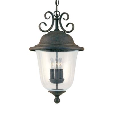 Sea Gull Lighting 6059-46 Three Light Outdoor Pendant Fixture