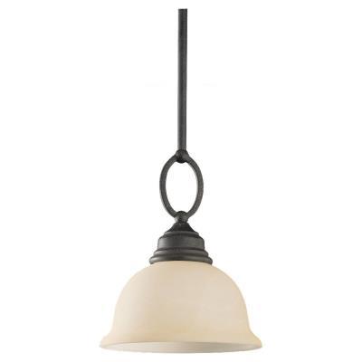 Sea Gull Lighting 61190-07 Single-Light Serenity Mini-Pendant