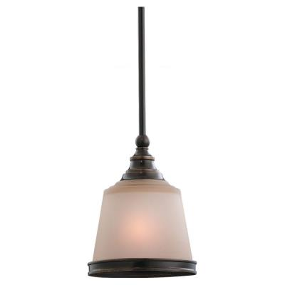 Sea Gull Lighting 61330BLE-825 Energy Star Single-light Warwick Mini-pendant