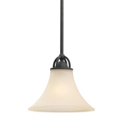 Sea Gull Lighting 61375BLE-839 Somerton - One Light Mini-Pendant