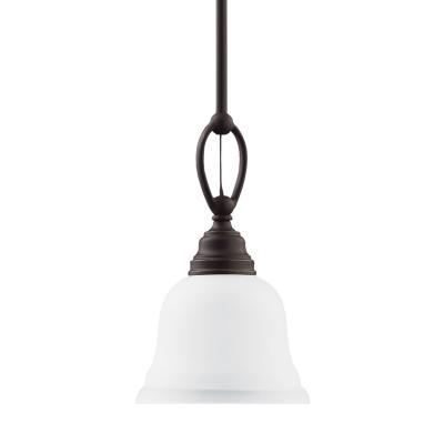 Sea Gull Lighting 61625BLE-782 Wheaton - One Light Mini-Pendant