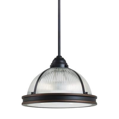 """Sea Gull Lighting 65061-715 Pratt Street - 12.75"""" Two Light Pendant"""