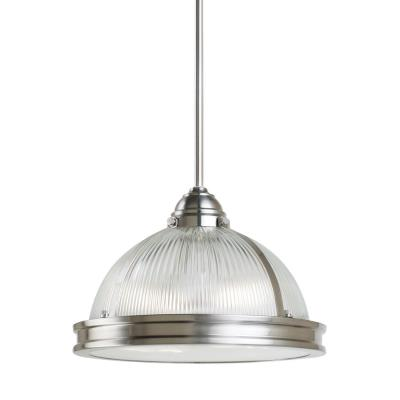 "Sea Gull Lighting 65061BLE-962 Pratt Street - 12.75"" Two Light Pendant with Bulbs Included"