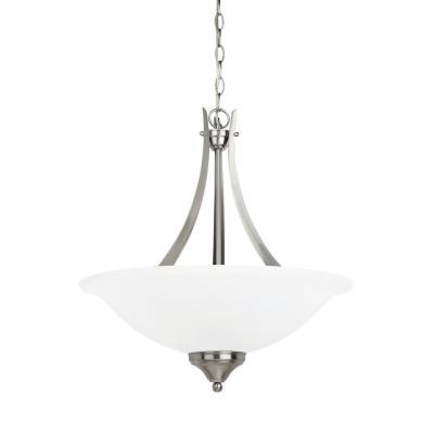 Sea Gull Lighting 65175BLE-962 Brockton - Three Light Pendant