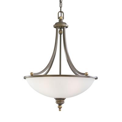 Sea Gull Lighting 65351-708 Laurel Leaf - Three Light Pendant