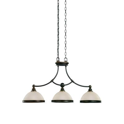 Sea Gull Lighting 66330-825 Three-Light Warwick Pendant / Billiard Light