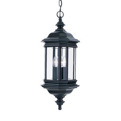 Sea Gull Lighting 6637-12 Three Light Outdoor Pendant Fixture