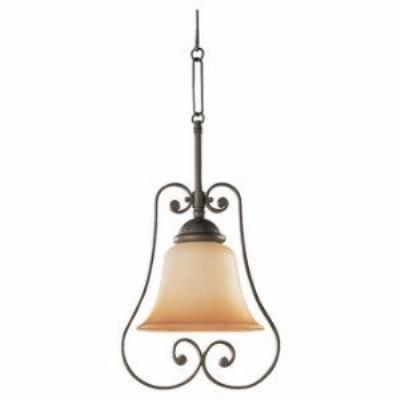 Sea Gull Lighting 69031BLE-71 Single-light Brandywine Mini-pendant