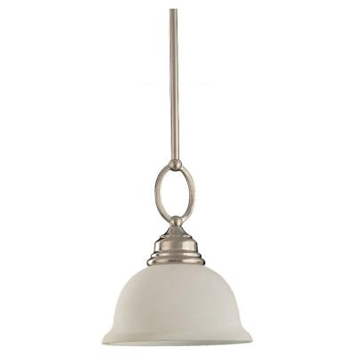 Sea Gull Lighting 69059BLE-962 Single-light Serenity Mini-pendant