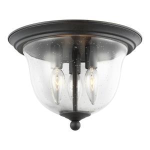 Morill - 40W Three Light Flush Mount