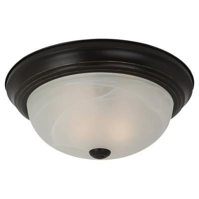 Sea Gull Lighting 75943BLE-782 Three Light Flush Mount