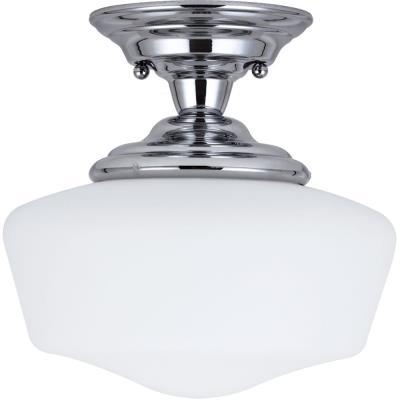 Sea Gull Lighting 77436BLE-05 Academy - One Light Semi-Flush Mount