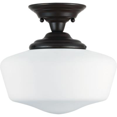Sea Gull Lighting 77437BLE-782 Academy - One Light Semi-Flush Mount