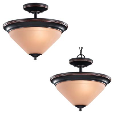 Sea Gull Lighting 77790-862 Belair - Two Light Flush Mount