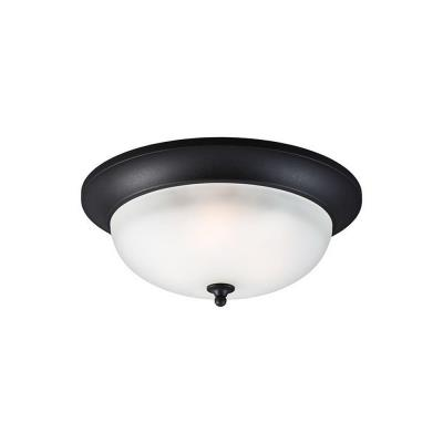 Sea Gull Lighting 7827403BLE-12 Humboldt Park - Three Light Outdoor Flush Mount