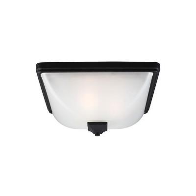Sea Gull Lighting 7828403BLE-12 Irving Park - Three Light Outdoor Flush Mount