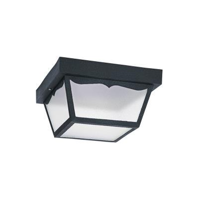 Sea Gull Lighting 79121BLE-12 One Light Outdoor Flush Mount