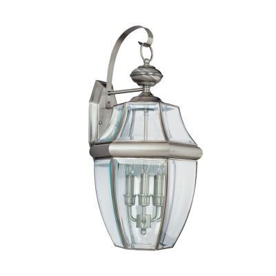 Sea Gull Lighting 8040-965 Lancaster - Three Light Wall Lantern