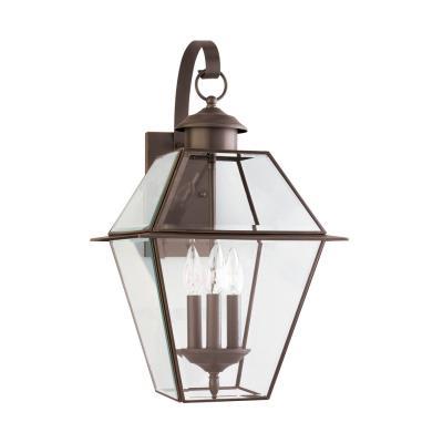 Sea Gull Lighting 8058-71 Three-Light Colony Wall Lantern